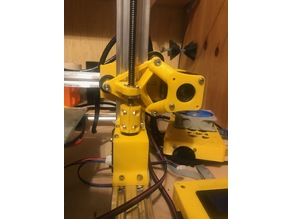 Z-axis full carriage similar to CR-10 + x-axis motor mount