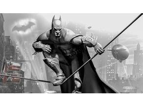 Batman: Arkham City Lithophane