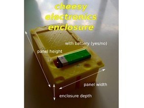 Cheesy Electronics Enclosure