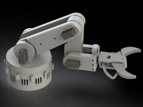 Robotic arm: gripper (part 1/3)