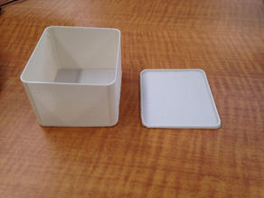 Custom Lidded Box - OpenSCAD