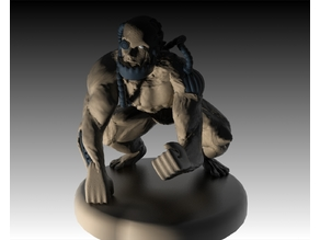 Cyborg Monster - miniature