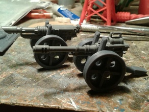 28 mm Heavy weapon carriage