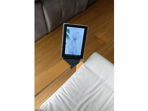 Ikea Poang armrest phone tablet stand