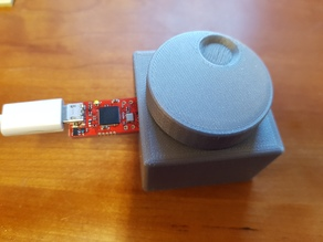 Button for Infinion '3D Magnetic 2Go Kit' (TLV493D) - With click function