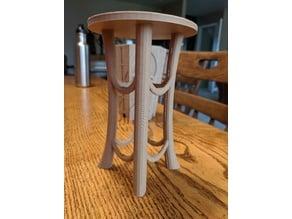 Tall Round Bonsai Table