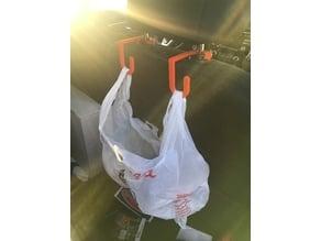 Car trash bag hook