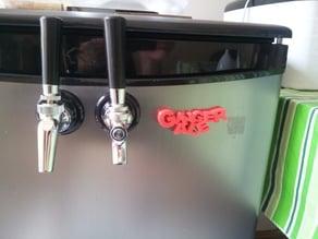 Ginger ale fridge magnet