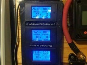 3 X power meter mount for solar