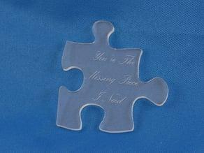 Acrylic Puzzle Piece