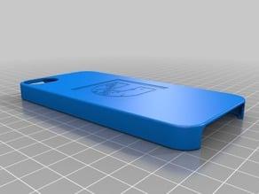 iPhone 5 case with Cummins logo