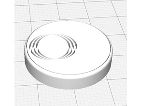 First Round Base For Miniatures (Circles)