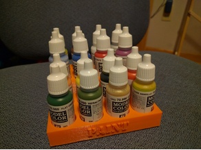 Model Paint Storage Tray