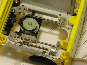 Photon Engraver - Mounting plate for microswitch endstop