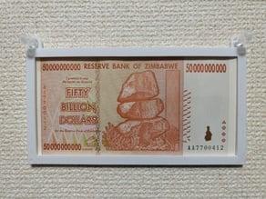 Zimbabwean dollar frame