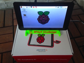 Raspberry Pi 7 inch Touch Screen Stand