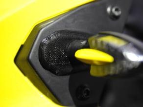 Kawasaki ER6 blinker cover