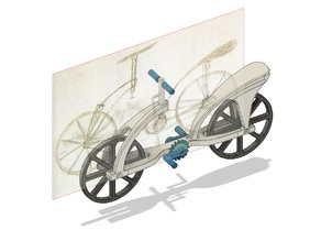 Leonardo da Vinci bicycle