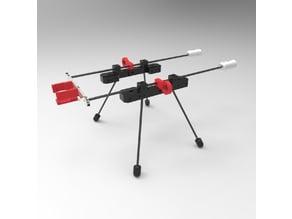 Payload platform for DJI Phantom 4 Pro drone