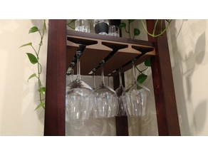 Wine Tower Glass Rack