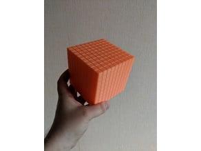 Elementary school thousand cube