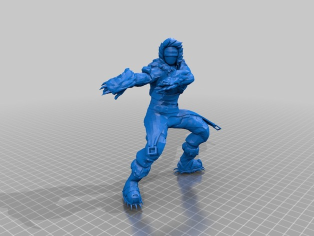Zenith Skin (Fortnite Model) by turbomesh - Thingiverse