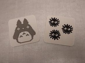 Ghibli Coaster / Posavasos Ghibli