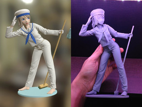 Sailor Girl 3D Printable Figure
