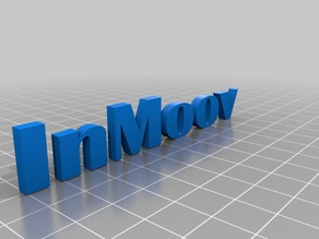 Mod letters - InMoov Remix Chest  ( print color whole letters )