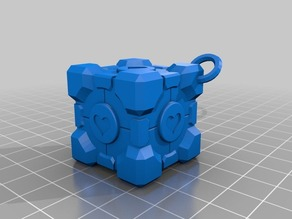 Cube companion ornament