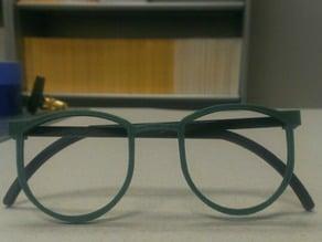 Round and Thin Glasses/ Sunglasses