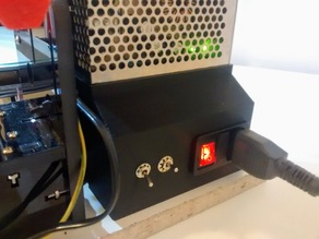 Anet A8 PSU Cover