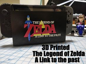 The Legend of Zelda A Link To The Past Nintendo switch dock plate