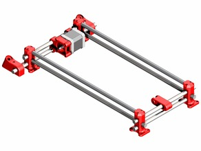 Prusa i3 Endlesshunt - Y-Axis frame for 10mm