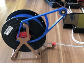 Auto-rewind spool holder (for MMU)