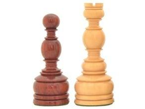 Turned Chess Set