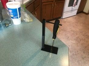 3D printer spatula holder