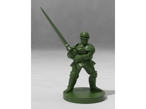 Armored Knight with Greatsword