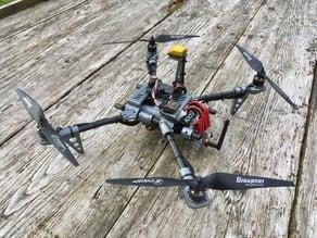 Printable Modular Multicopter Tubeframe