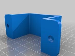 Bracket for Ubiquiti wifi POE power adapters (24v version)