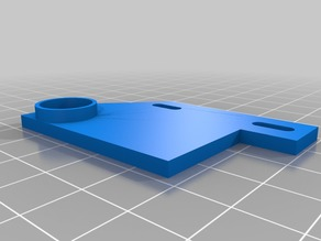 Auto Bed Leveling sensor mount for RigidBot