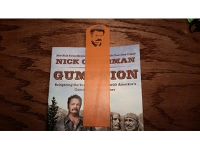 Ron Swanson bookmark