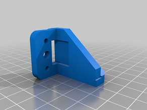 3dTouch Mount for Anet A8 E3D V6 Bowden MODULAR X Carriage V