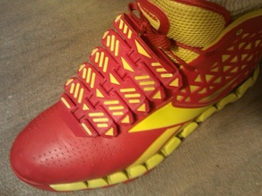 Shoe lace cover, IronMan design