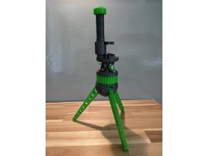 turnable base for modular mini tripod