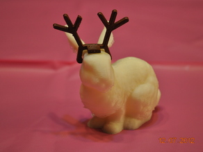 Reindeer Antlers for the Stanford Bunny