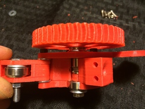Geared Extruder for Reach 3D Printer