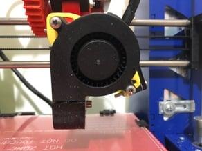 Adjustable 50 mm radial fan mount for wade extruder