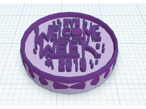 NYU Welcome Week Coin 2019