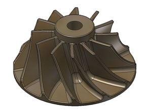 Compressor Wheel for the FD3-64